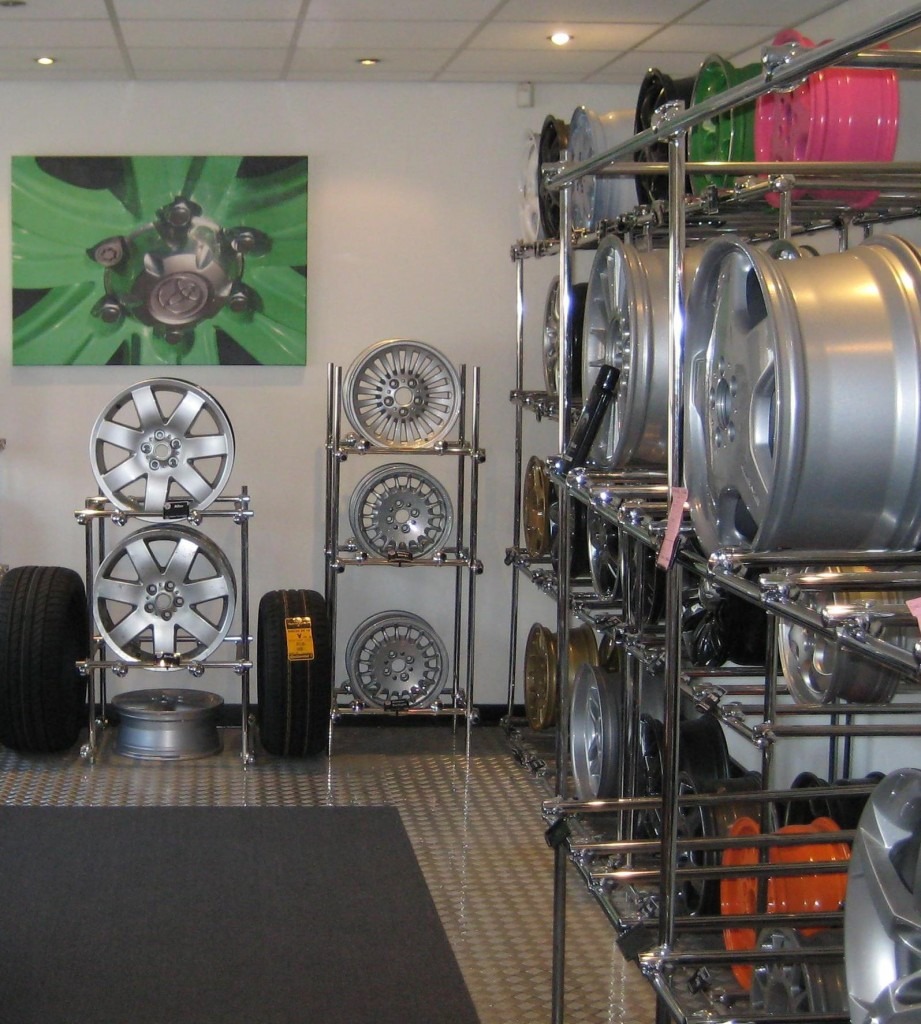 A Wheel Specialist showroom