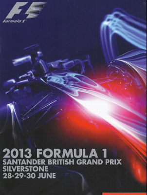 Formula One Official Programme - June 2013