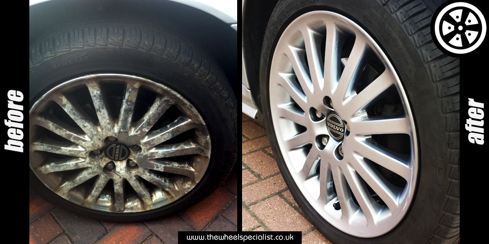 Before and after of alloy
