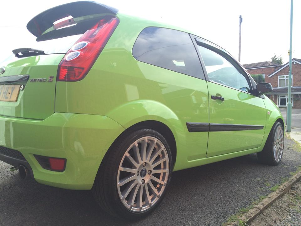 Zetec Wheel Refurbishment